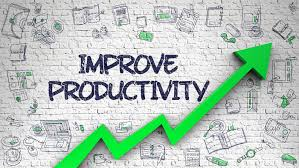 Improve productivity motto